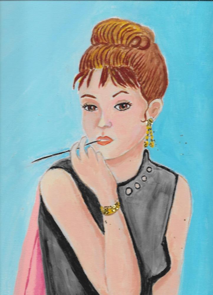 Audrey Hepburn by Jeanette